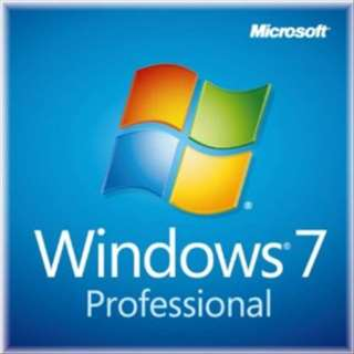 Windows 7 Professional 64bit Service Pack1 DSP版 + バルクメモリ