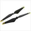 9450 Carbon Fiber Self-tightening Rotor(composite hub, black with yellow stripes) P3PRY