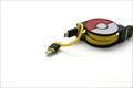 CHE-245-YE cheero 2in1 Retractable Cable POKEMON Ver. (Yellow)