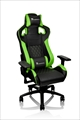【5月中旬発売予定】 GT Fit Gaming chair -Black&Green- Standard Sports Style GC-GTF-BGMFDL-01
