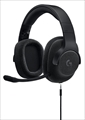 G433BK Wired 7.1 Surround Gaming Headset ブラック