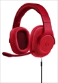 G433RD Wired 7.1 Surround Gaming Headset レッド